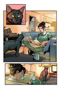 Kitten Comics Page Colors