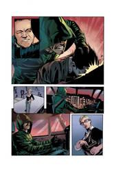 Arrow comics Color