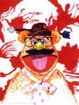 Fozzy Bear as the American Psycho