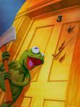 Kermit in The Shining