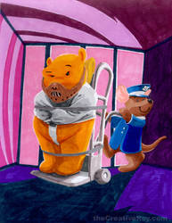 Winnie the Pooh as Hannibal Lector by theCreativeRoy