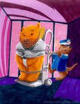 Winnie the Pooh as Hannibal Lector