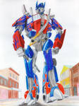 Optimus Prime in the Wild West
