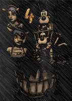 Chapter 4 - Bendy and the Ink Machine -Z- by ZiaGy