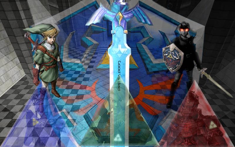 Zelda Link Vs Dark Link By Djdaanxd On Deviantart