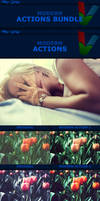 Modern Photoshop Actions - BUNDLE by ViktorGjokaj
