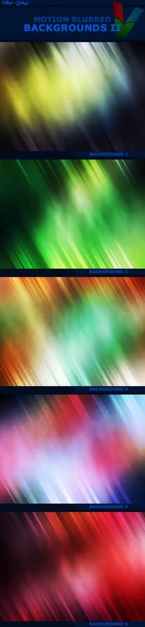 Motion Blurred Backgrounds II