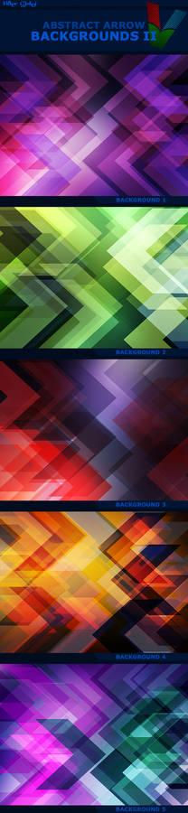 Abstract Arrow Backgrounds II