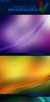 Abstract Line Backgrounds II by ViktorGjokaj