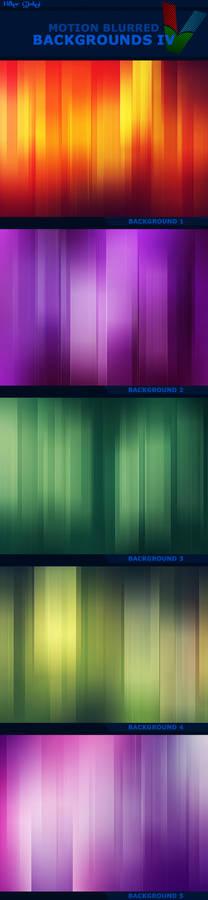 Motion Blurred Backgrounds IV