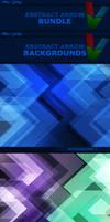 Abstract Arrow Backgrounds BUNDLE