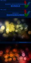 Bokeh Backgrounds BUNDLE by ViktorGjokaj