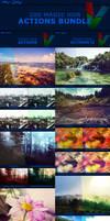 200 Magic HDR Photoshop Actions - BUNDLE by ViktorGjokaj