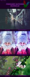 February Photoshop Actions BUNDLE by ViktorGjokaj