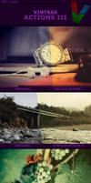 Vintage Actions III by ViktorGjokaj