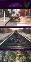Vintage Actions IV by ViktorGjokaj