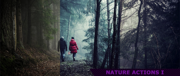 Nature Photoshop Actions 1 by ViktorGjokaj
