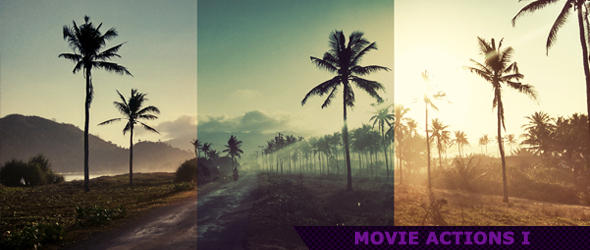 Movie Photoshop Actions 1