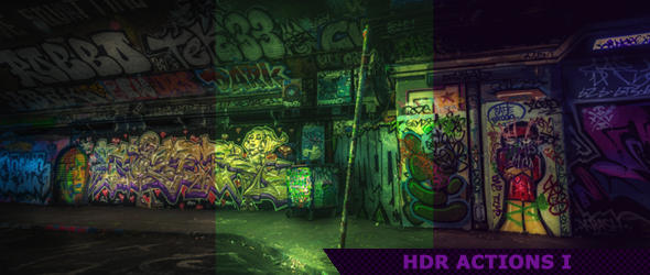 HDR Photoshop Actions 1