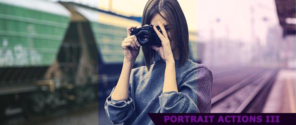 Portrait Actions 3 by ViktorGjokaj