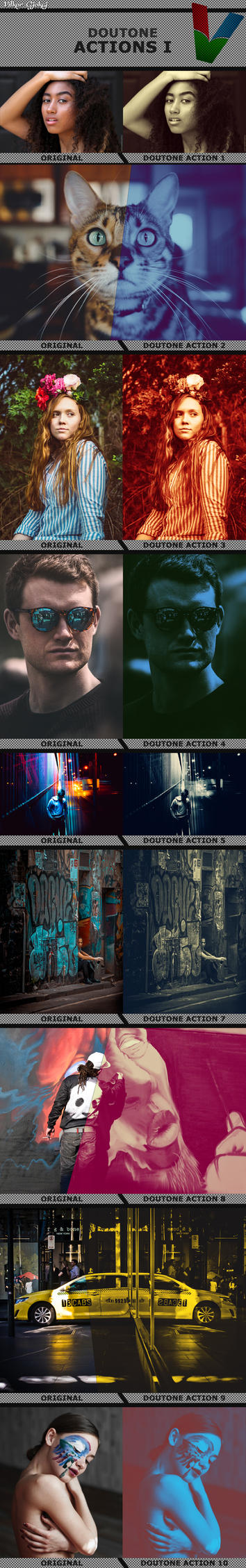 Doutone Photoshop Actions 1 by ViktorGjokaj