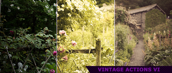 Vintage Photoshop Actions for Photography 6 by ViktorGjokaj