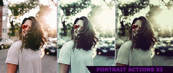 Portrait Photoshop Actions for Photography 6 by ViktorGjokaj