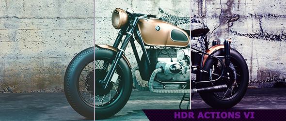 HDR Photoshop Actions for Photography 6 by ViktorGjokaj