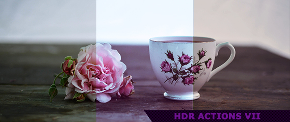 HDR Photoshop Actions for Photography 7 by ViktorGjokaj