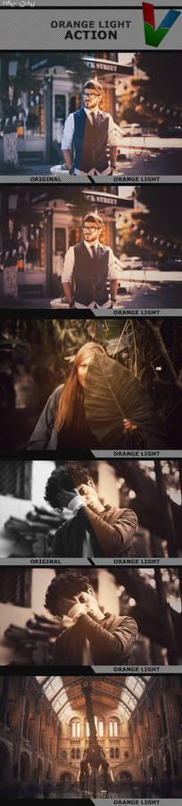 Orange Light Action