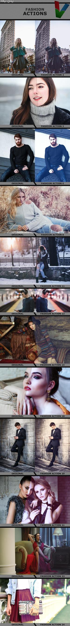 Fashion Actions by ViktorGjokaj