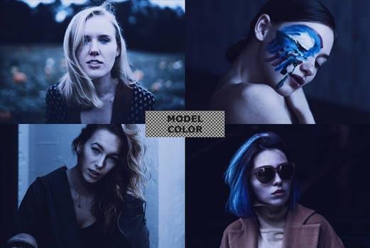 Model Color PSD file