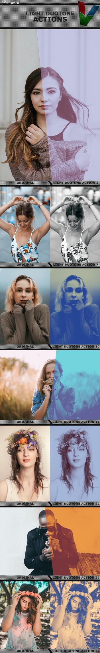 30 Duotone Actions by ViktorGjokaj