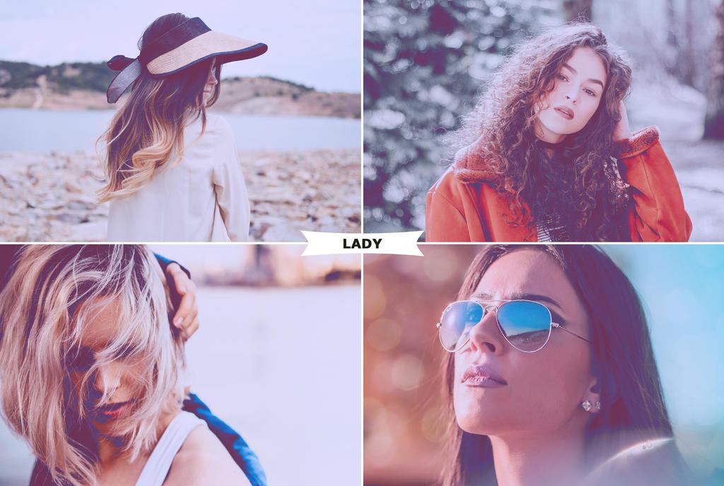 Lady Photoshop Actions 3 by ViktorGjokaj