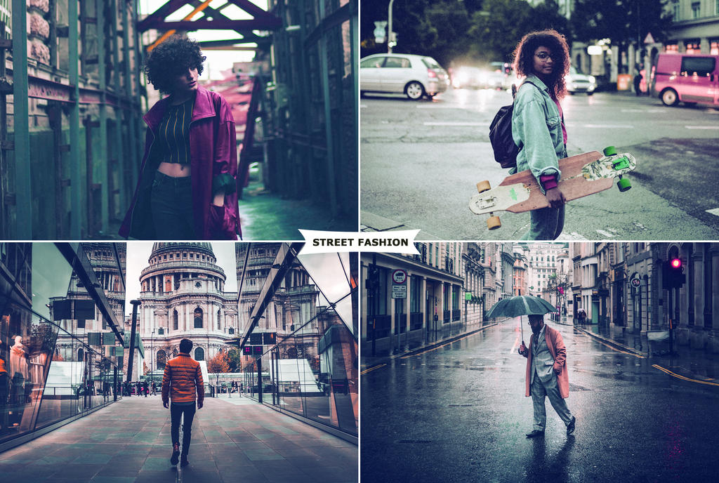 Street Fashion Actions 4 by ViktorGjokaj