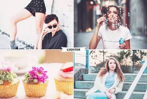Lighter Photoshop Actions 2 by ViktorGjokaj