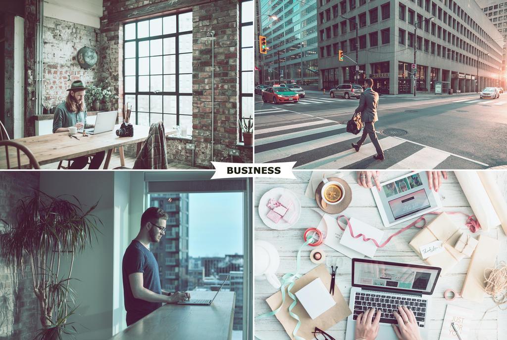 Business Photoshop Actions 1 by ViktorGjokaj