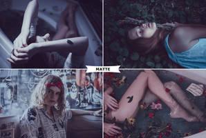 Matte Photoshop Actions 1 by ViktorGjokaj