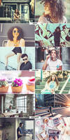 4 IN 1 Photoshop Actions Bundle MAY 2