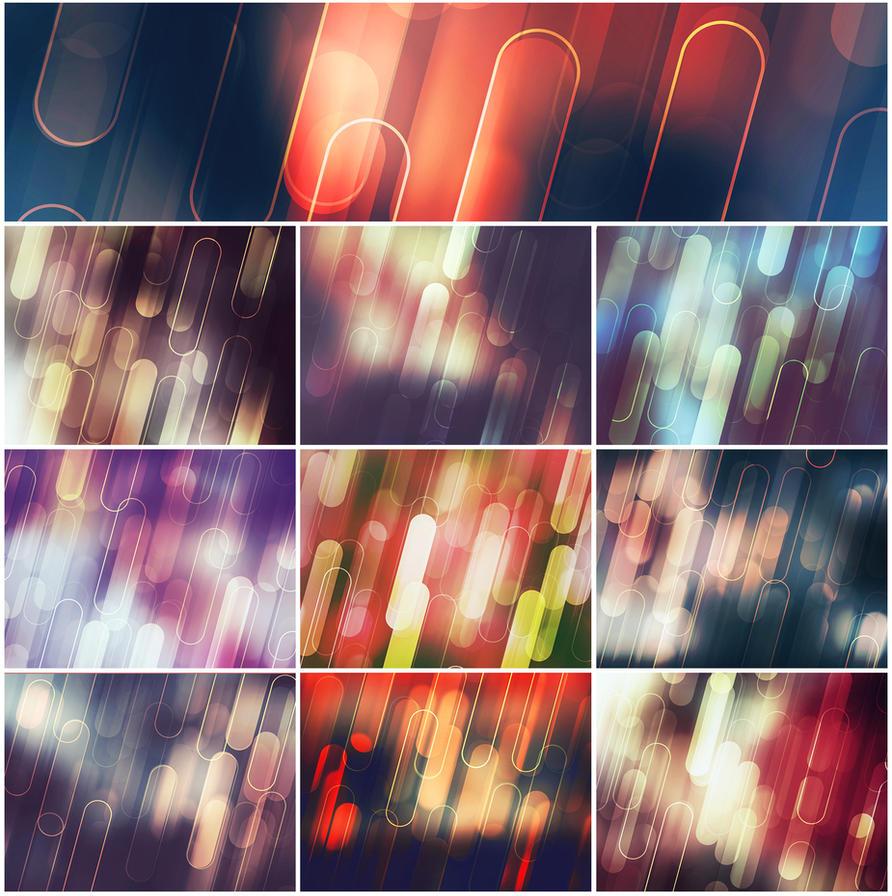 Modern Backgrounds II by ViktorGjokaj