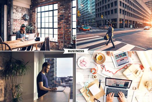 Business Photoshop Actions 2 by ViktorGjokaj