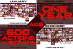 +600 Photoshop Actions + BONUS!! BUNDLE OFF