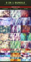 9 IN 1 Bundle Photoshop Background Textures