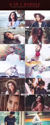 6 IN 1 Photoshop Actions Bundle by ViktorGjokaj