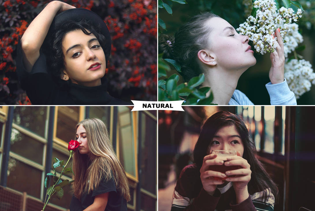 Natural Photoshop Actions by ViktorGjokaj