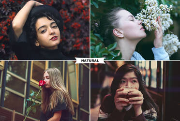 Natural Photoshop Actions by ViktorGjokaj