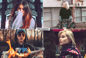 Influencer Actions by ViktorGjokaj