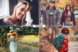 Stylish Photoshop Actions by ViktorGjokaj