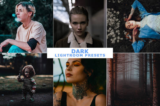 Dark Lightroom Presets