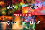 Abstract Art Background Textures Bundle 4 IN 1